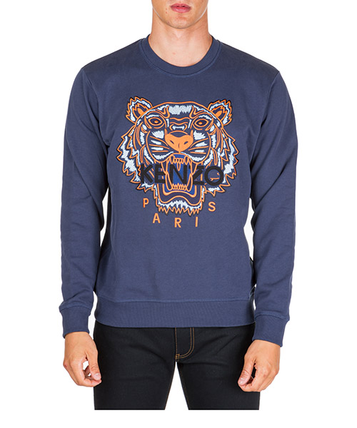 Sudaderas Kenzo tiger f965sw0014xa.78 blu