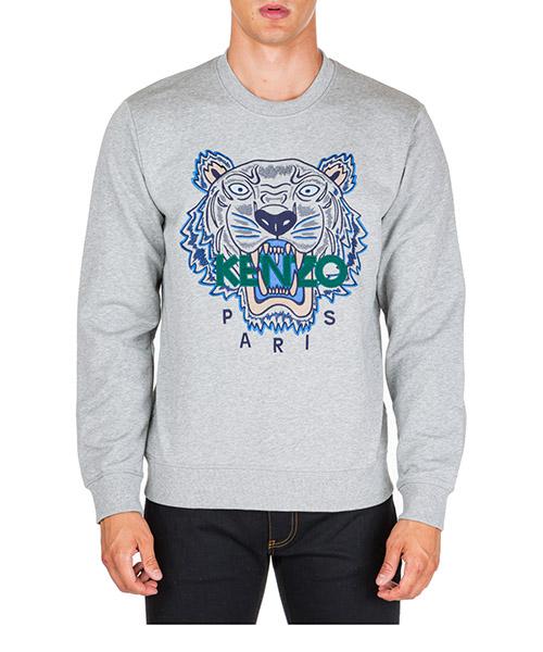 Sweatshirt Kenzo tiger f965sw0014xa.94 grigio