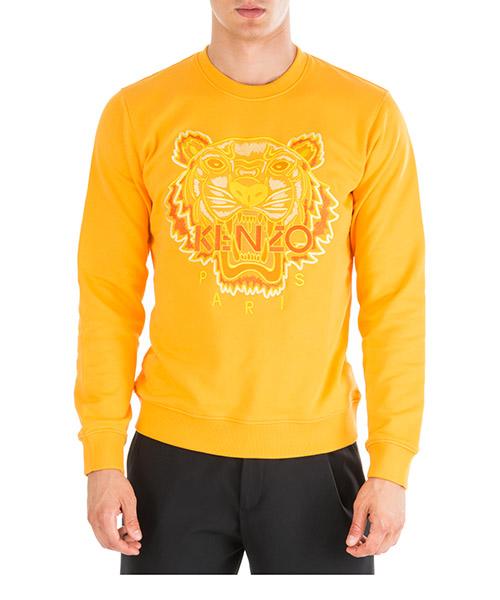Sweatshirt Kenzo tiger f965sw0114xh41 arancio