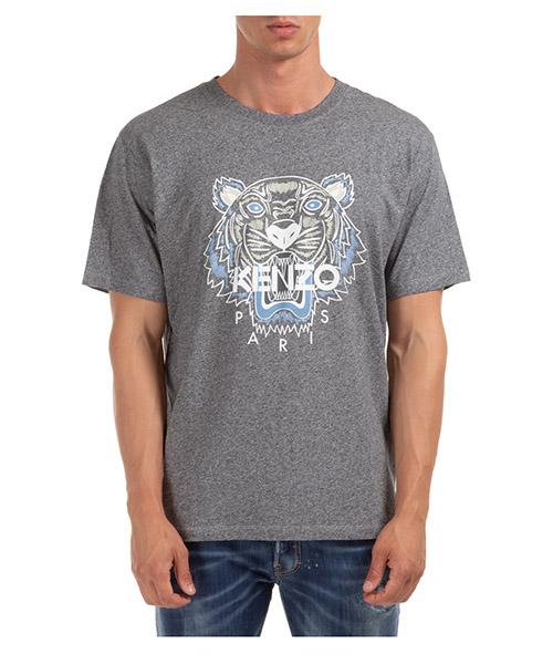 T-shirt Kenzo tiger k42p2055ts0504ya.98 grigio
