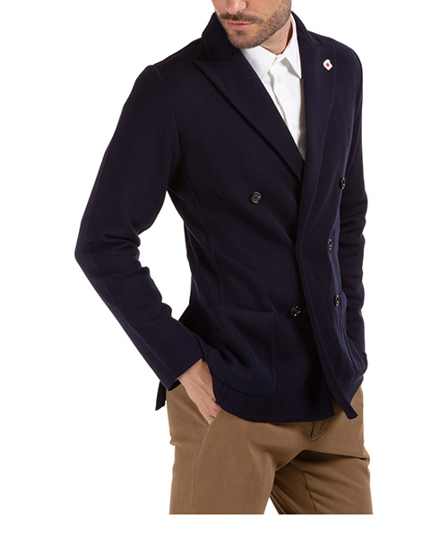 Men's double breasted jacket blazer secondary image