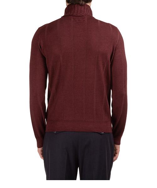 Men's polo neck turtleneck jumper sweater secondary image