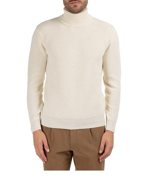 Roll neck jumper Lardini IMLMML168_IM55024_100 bianco