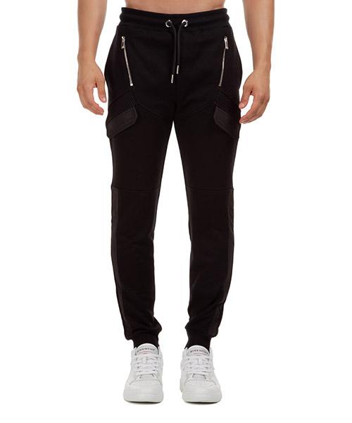 Pantalones deportivos Les Hommes LJJ101756G9000 nero