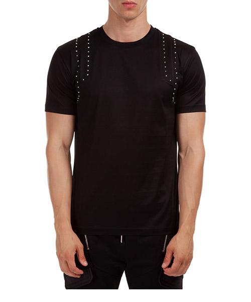 Camiseta Les Hommes LJT102703U9000 nero
