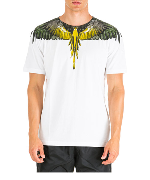 T-shirt Marcelo Burlon Wings CMAA018E190010010188 white multicolor