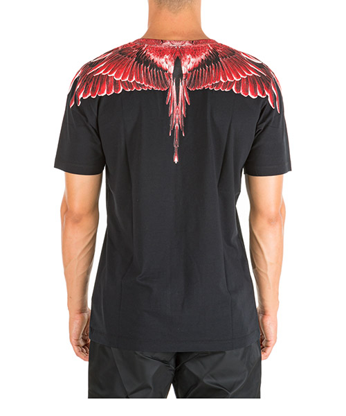 Men's short sleeve t-shirt crew neckline jumper ghost wings secondary image
