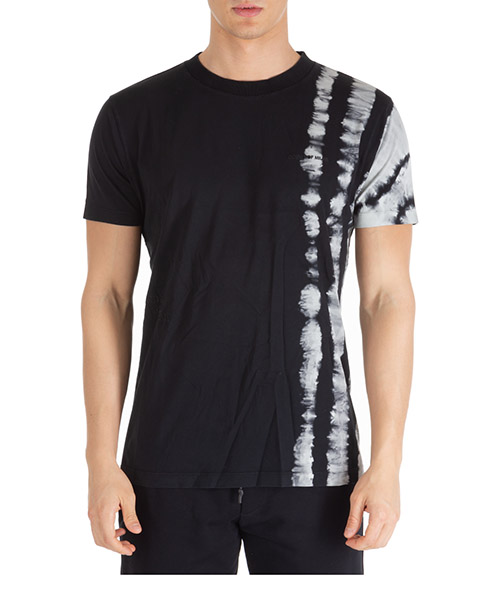 T-shirt Marcelo Burlon tie-dye cmaa018e190010258810 multicolor black