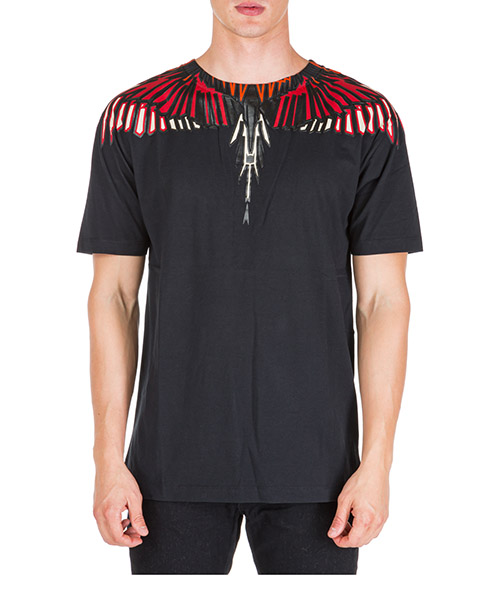 T-shirt Marcelo Burlon wings cmaa018f190010051088 nero