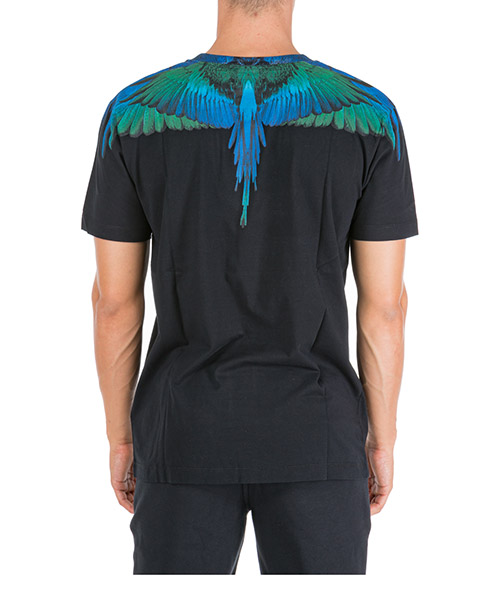 Men's short sleeve t-shirt crew neckline jumper wings secondary image