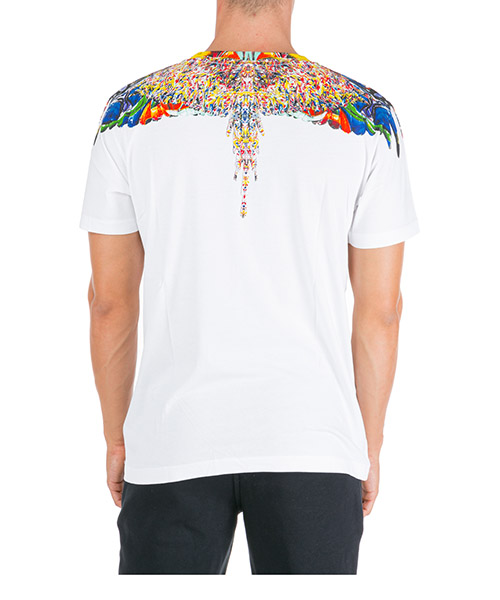 T-shirt manches courtes ras du cou homme multicolor wings secondary image