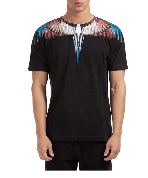 T-shirt Marcelo Burlon wings CMAA018F20JER0011028 nero