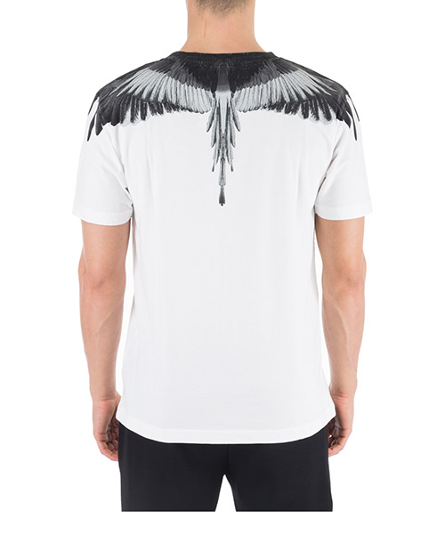 Men's short sleeve t-shirt crew neckline jumper wings secondary image