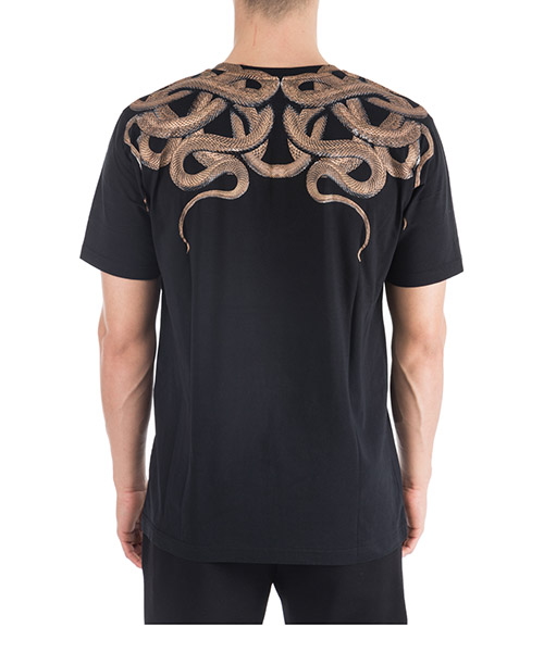 Men's short sleeve t-shirt crew neckline jumper snakes secondary image