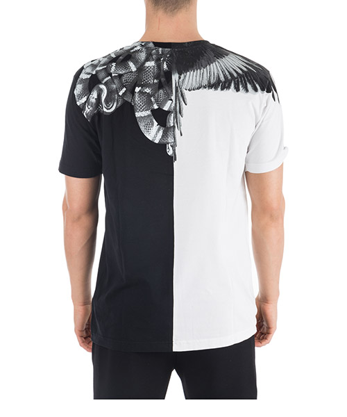 Men's short sleeve t-shirt crew neckline jumper wings snakes secondary image