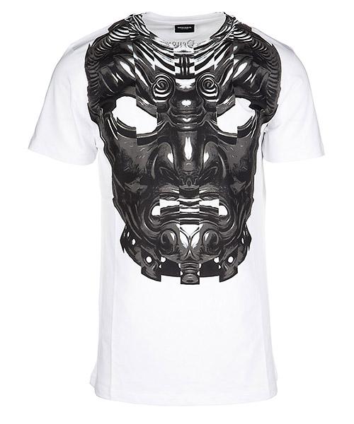 Men's short sleeve t-shirt crew neckline jumper romeo