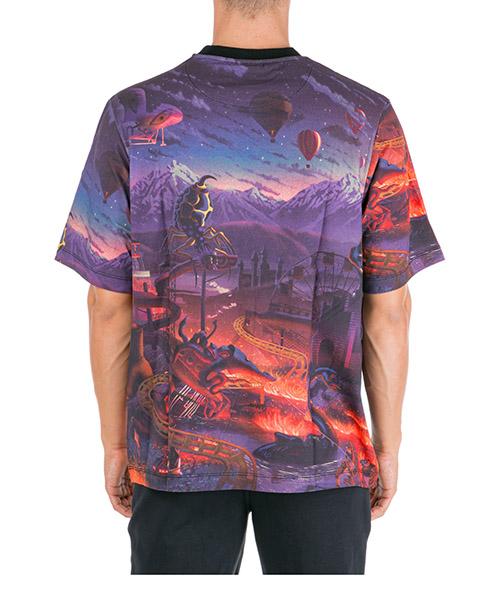 Men's short sleeve t-shirt crew neckline jumper fantasy secondary image