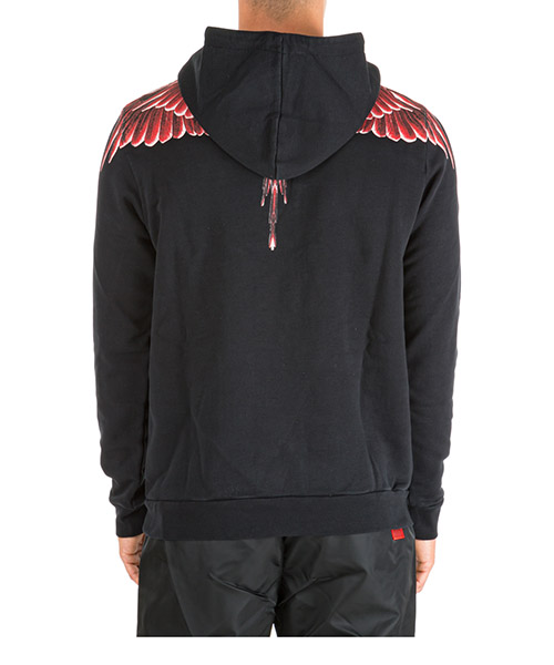 Men's hoodie sweatshirt sweat wings secondary image