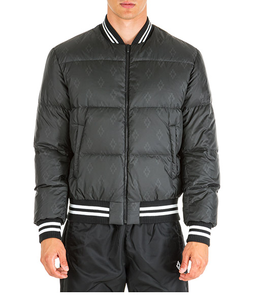 Down jacket Marcelo Burlon Cross CMED022E19B130111000 nero