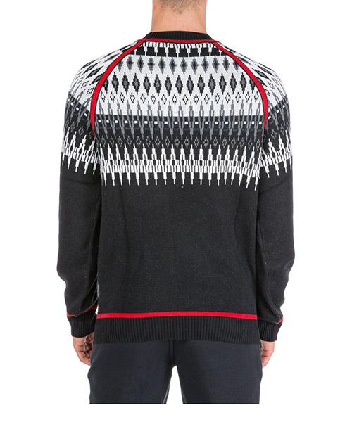 Men's crew neck neckline jumper sweater pullover norwegian secondary image