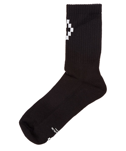 Knee high socks Marcelo Burlon Cross CMRA003E190960351001 nero