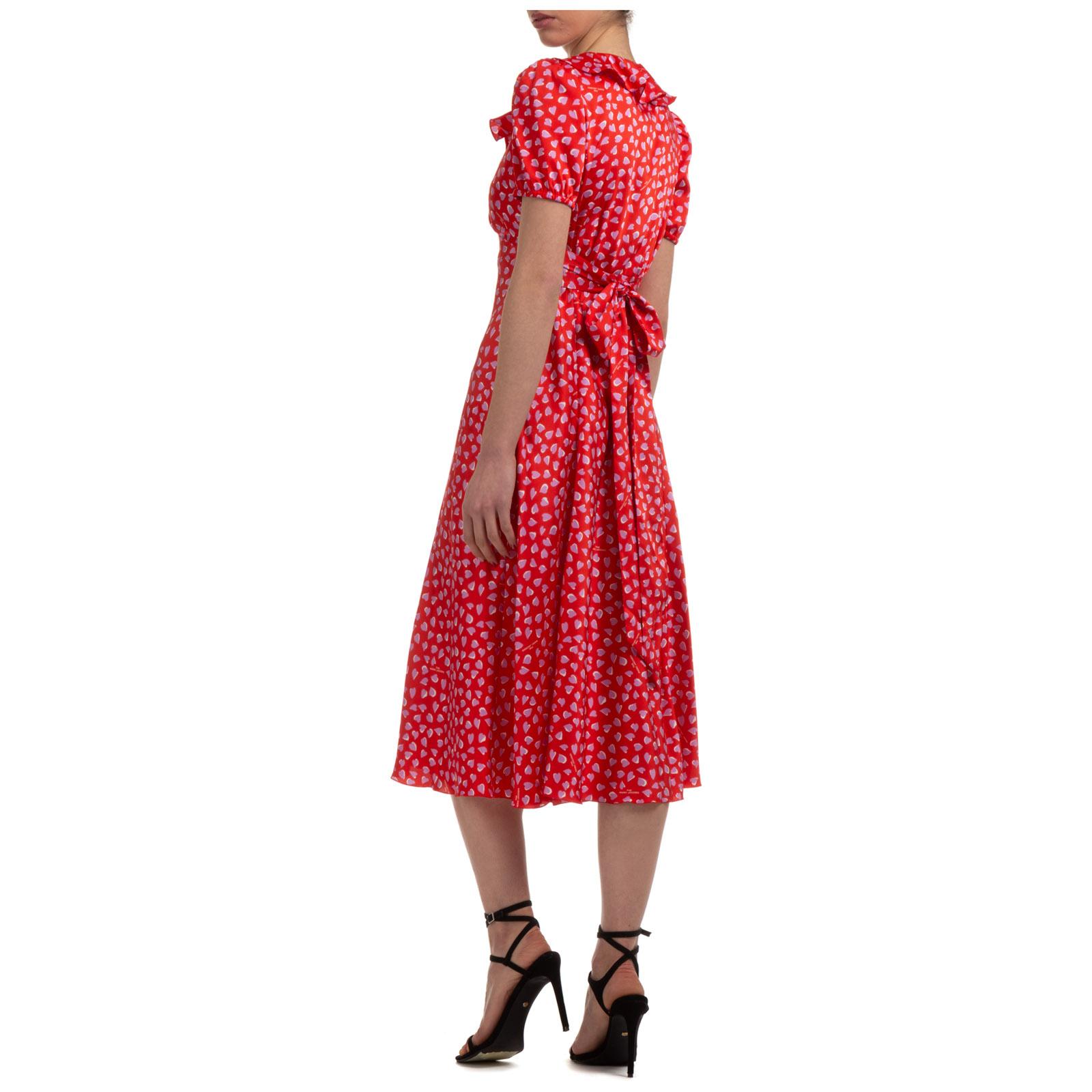 Marc Jacobs WOMEN'S KNEE LENGTH DRESS SHORT SLEEVE