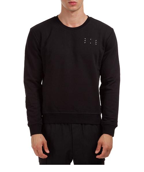 Sweatshirt MCQ 624715RPR20 1000 nero