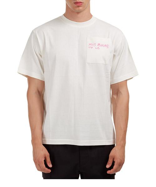 T-shirt MCQ GENESIS II 624722RPJ33 9512 bianco