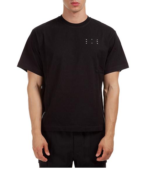 T-shirt MCQ 624833RPR21 1000 nero