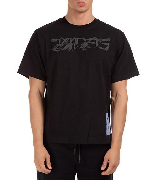 T-shirt MCQ arcade 624833rpt99 1000 nero