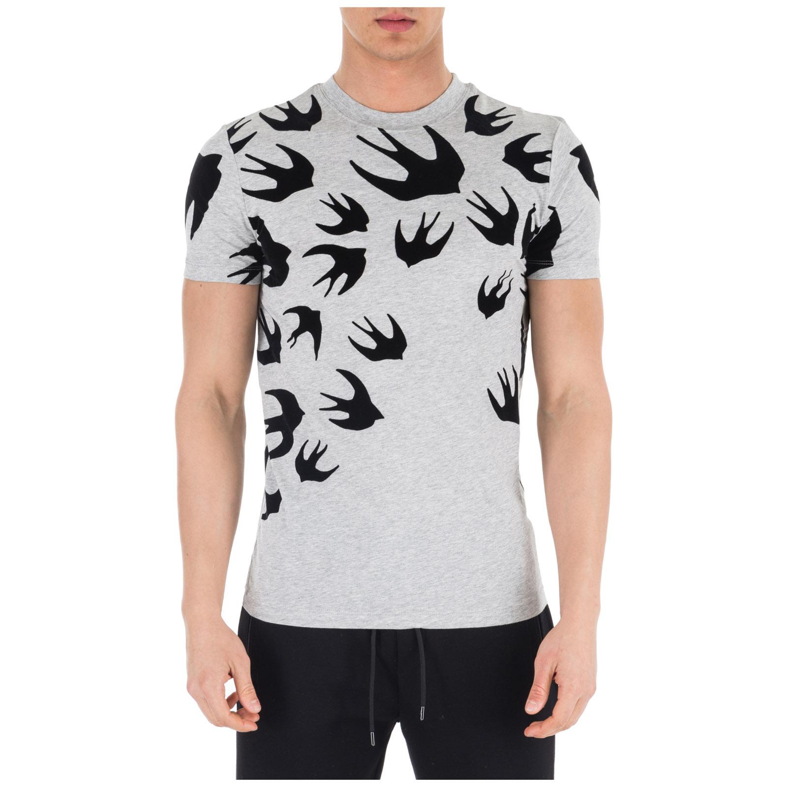 Camiseta de manga corta cuello redondo hombre swallow