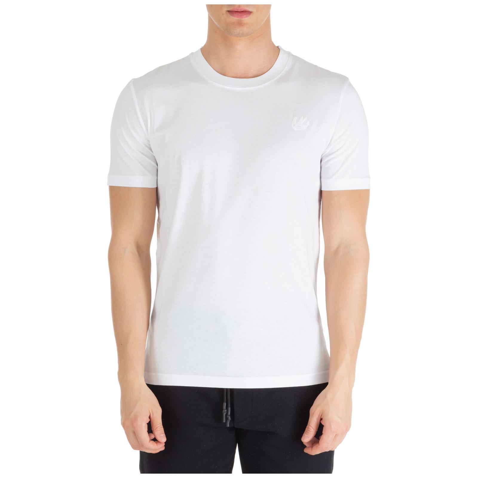 Men's short sleeve t-shirt crew neckline jumper swallow