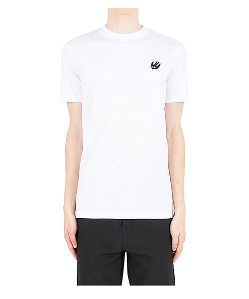T-shirt MCQ Alexander McQueen Swallow 277605RKH369008 optic white