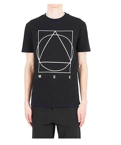 T-shirt MCQ Alexander McQueen 277605RKT421000 nero