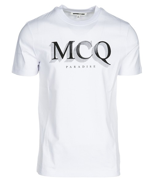 T-shirt MCQ Alexander McQueen Paradise 277605RLH449000 bianco