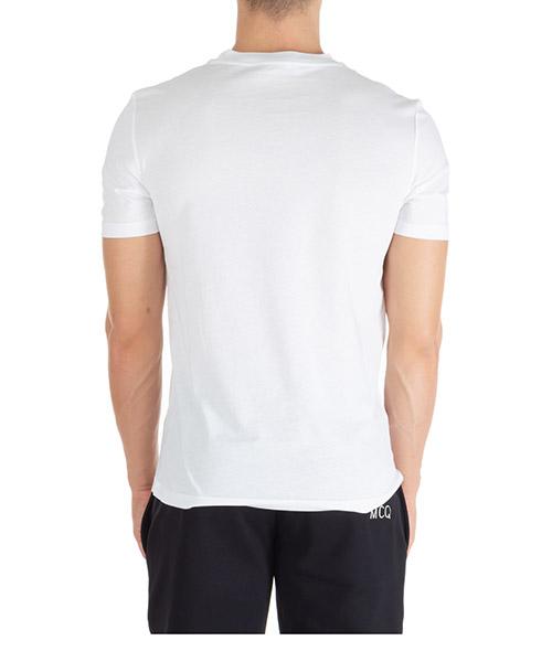 Men's short sleeve t-shirt crew neckline jumper swallow secondary image