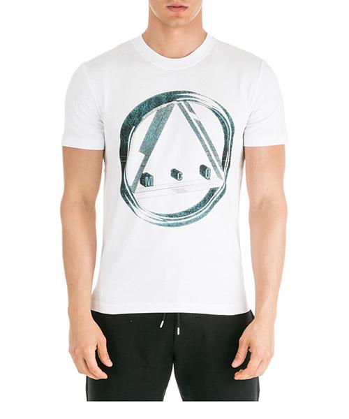 T-shirt MCQ Alexander McQueen Icon Sphere 277605RNT119000 white