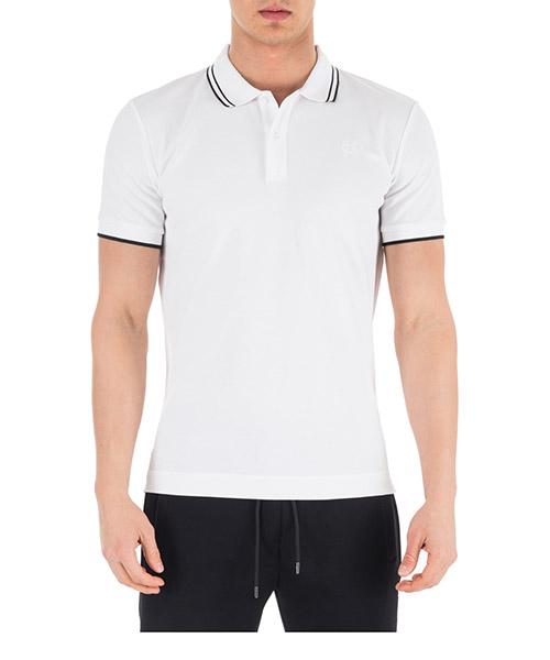 Polo t-shirt MCQ Alexander McQueen Swallow 277624RMT729000 bianco
