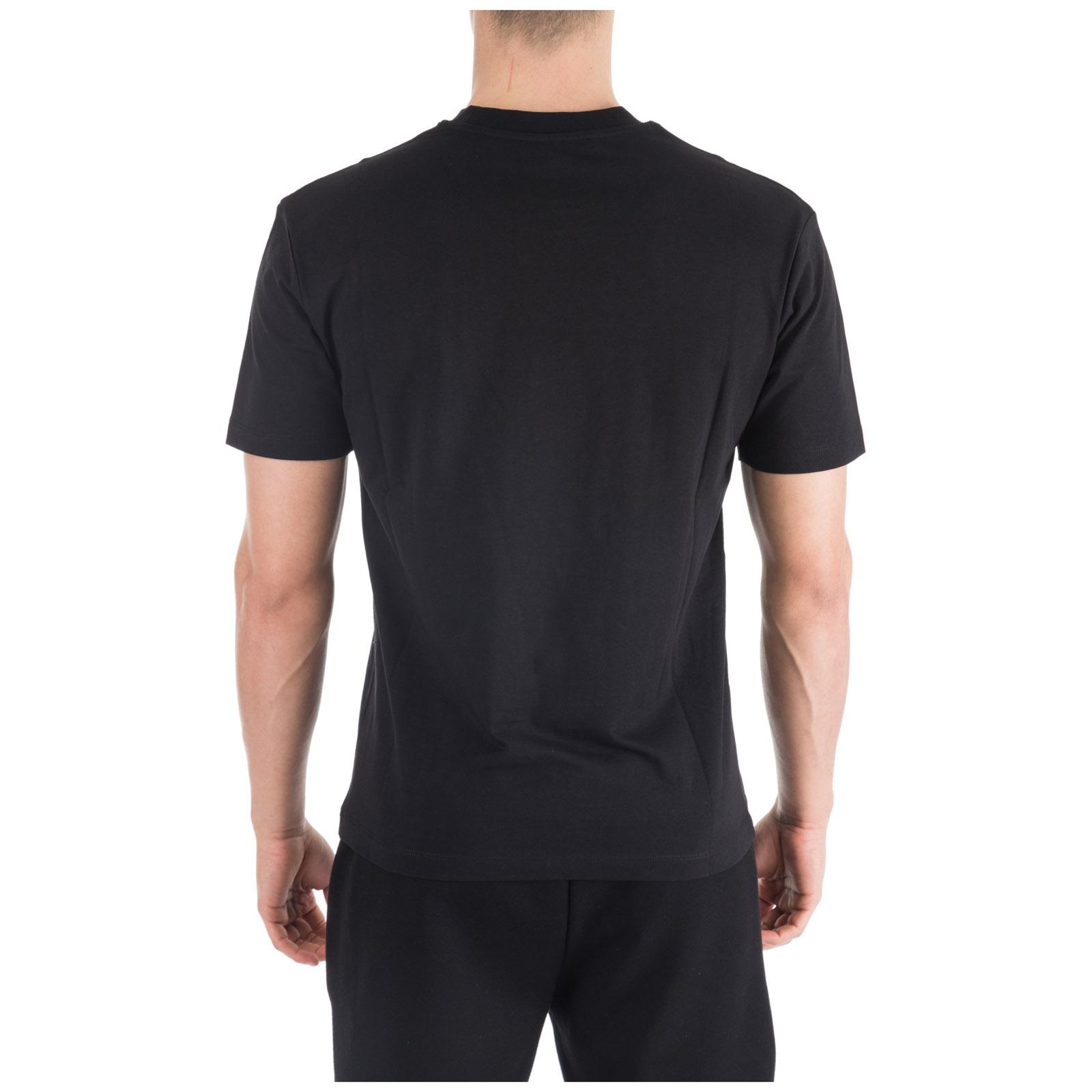 Men's short sleeve t-shirt crew neckline jumper