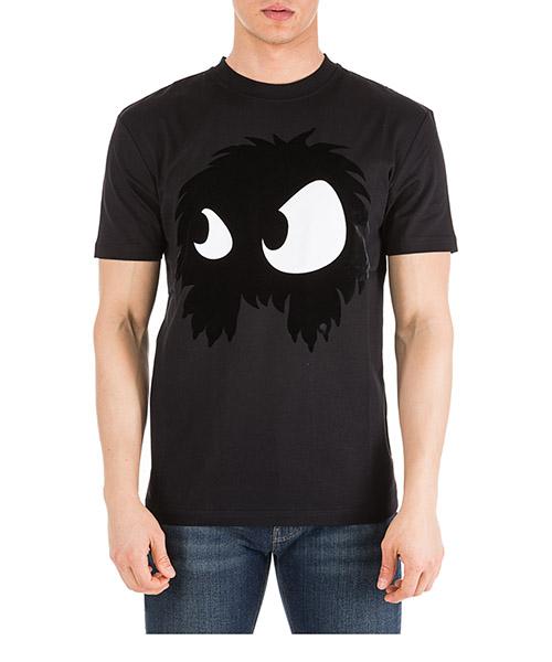 T-shirt MCQ Alexander McQueen Mad-Chester 291571RKH521068 nero