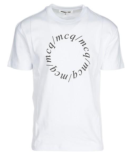 T-shirt MCQ Alexander McQueen State Of Mind 291571RLR239000 bianco