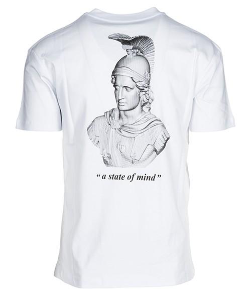 Herren t-shirt kurzarm kurzarmshirt runder kragen state of mind secondary image