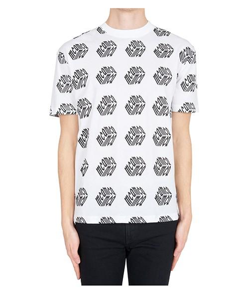 T-shirt MCQ Alexander McQueen 291571RLT619000 bianco