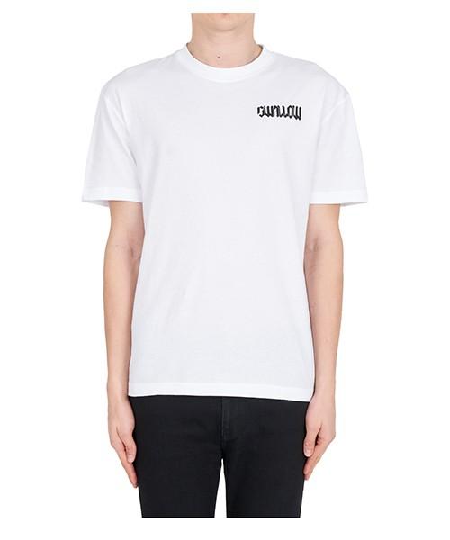 T-shirt MCQ Alexander McQueen swallow 291571rlt829000 bianco