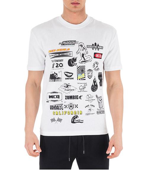 T-shirt MCQ Alexander McQueen 291571RMT049000 bianco