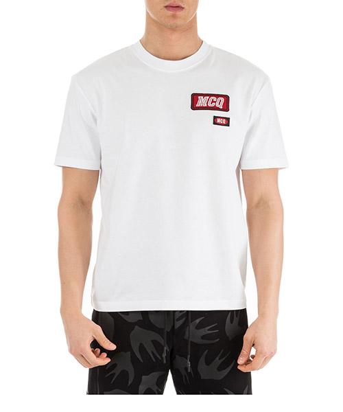 T-shirt MCQ Alexander McQueen 291571RMT269000 bianco