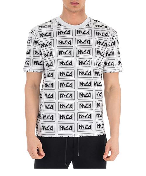 Camiseta MCQ Alexander McQueen 291571RMT309000 bianco