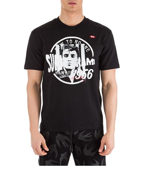 T-shirt MCQ Alexander McQueen 291571RMT791000 nero