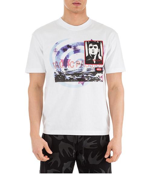 T-shirt MCQ Alexander McQueen 291571RMT809000 bianco