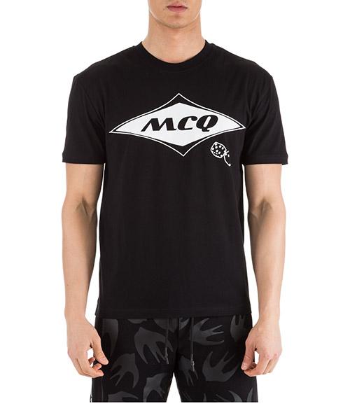 T-shirt MCQ Alexander McQueen 291571RMT831000 nero